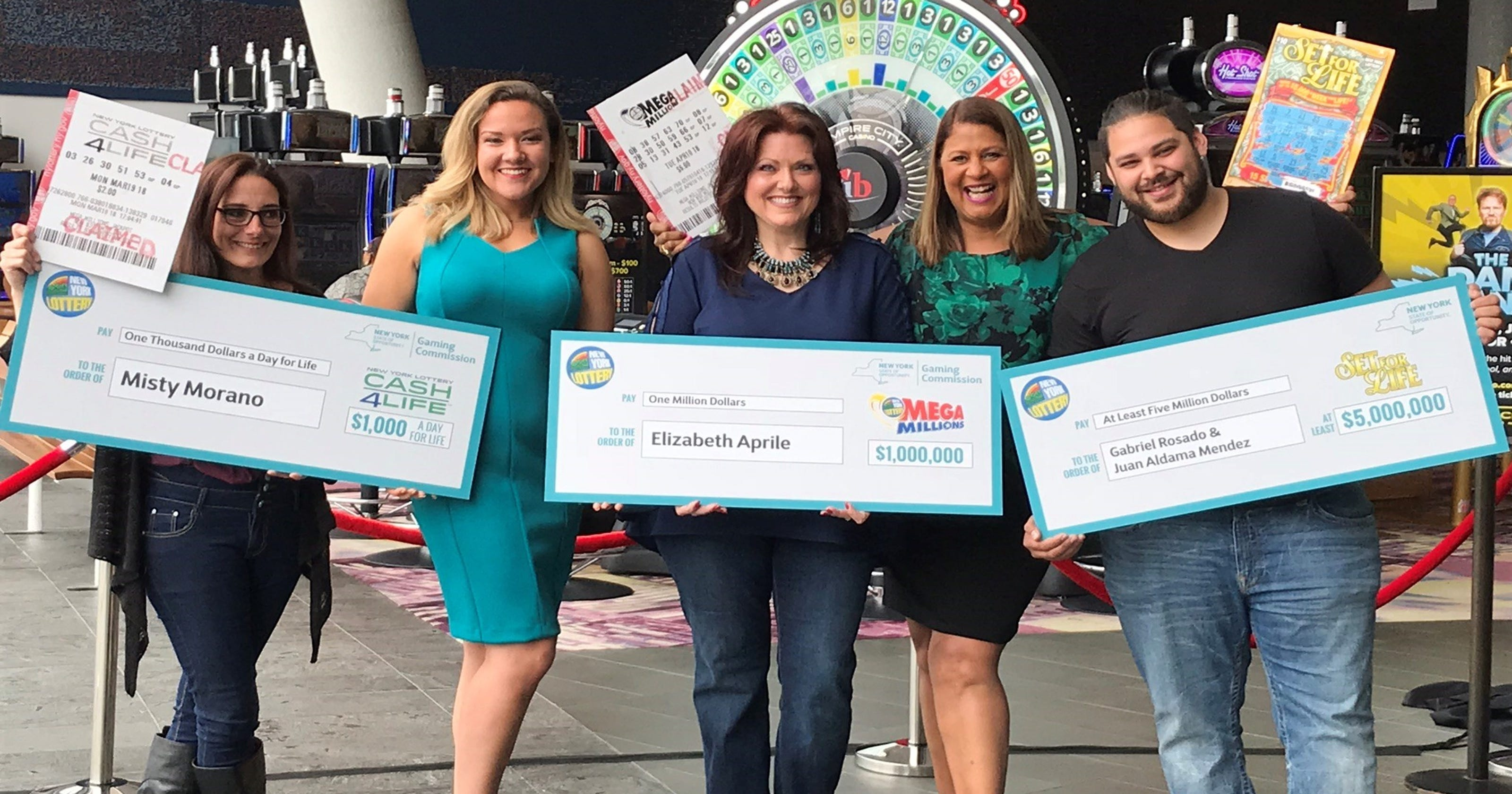 3 Westchester residents win a combined $13M playing the Lottery