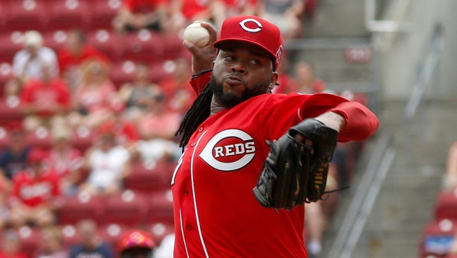 Cincinnati Reds starting pitcher Johnny Cueto has a 2.62 ERA and 0.93 WHIP this season.