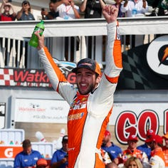 Chase Elliott breaks through for first career Cup win at Watkins Glen