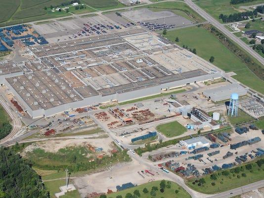 GM plant site photo