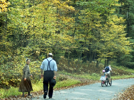 Both hikers and bikers are allowed on certain trails, but make sure to check before you go.