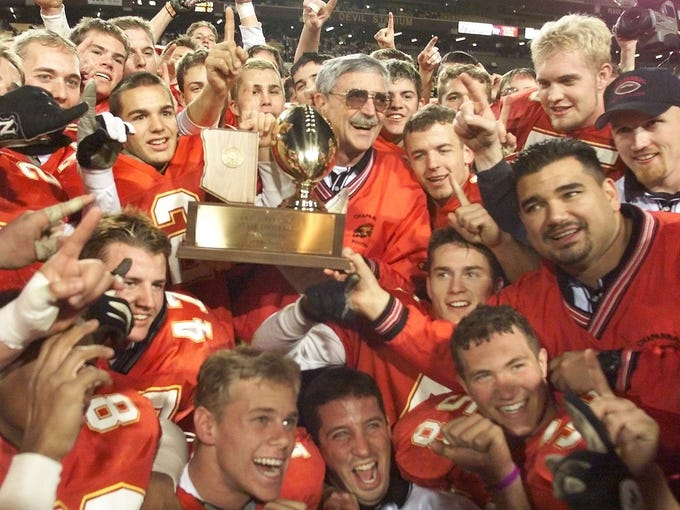 Scottsdale Chaparral began playing football in 1973,
