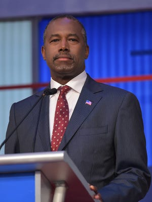 "Republican presidential candidate Ben Carson says ""P.C. culture"" is to blame for the fallout over his statement against electing a Muslim president."
