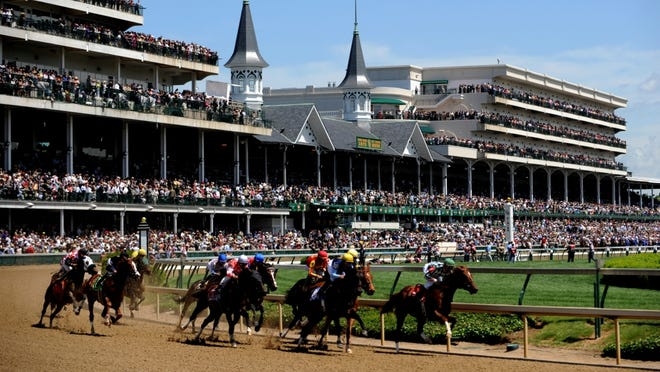 The Kentucky Derby has been held at Churchill Downs in Louisville, Ky., since 1875. Fans come out for the fashion and mint juleps, along with the horse race.