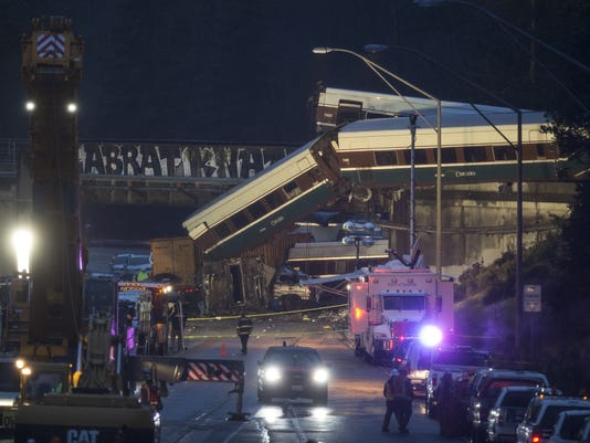 Amtrak Derailment Washington