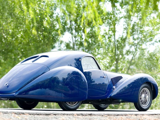1938 Talbot Lago 150C Aero Coupe will  be on display at the Concours d'Elegance of America, July 30, 2017 at the Inn at St. John's, Plymouth.