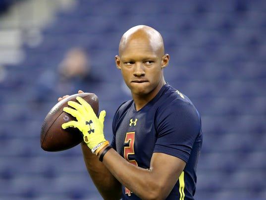Alvin Kamara Draft Profile >> Tennessee Vols NFL draft profile: Joshua Dobbs