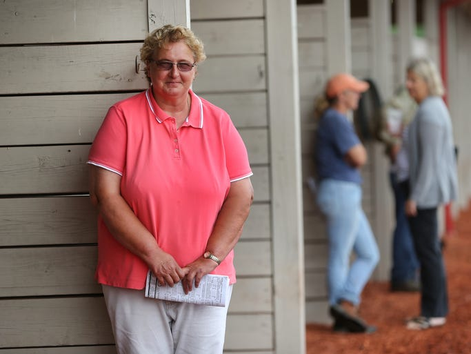 Kim Hammond of Shelbyville is a world-class horse trainer that recently surpassed the 2,000-win mark in her career and is the winningest American female trainer of all time.