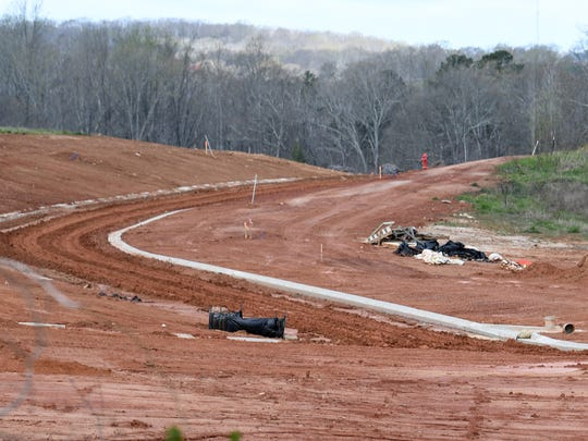 Rodney Howard Grading of Simpsonville at a large piece of land McGee Road before construction of 80 homes, near North Pointe Elementary on State Highway 81 North in Anderson on March 21, 2018.