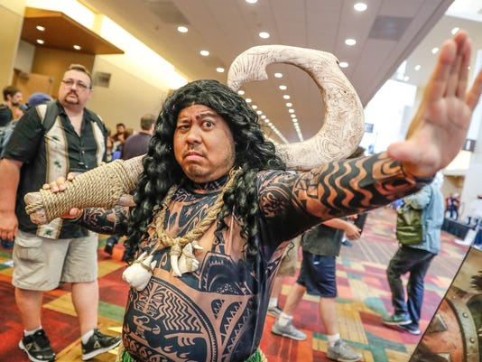 Gen Con attedees strut their stuff in costume