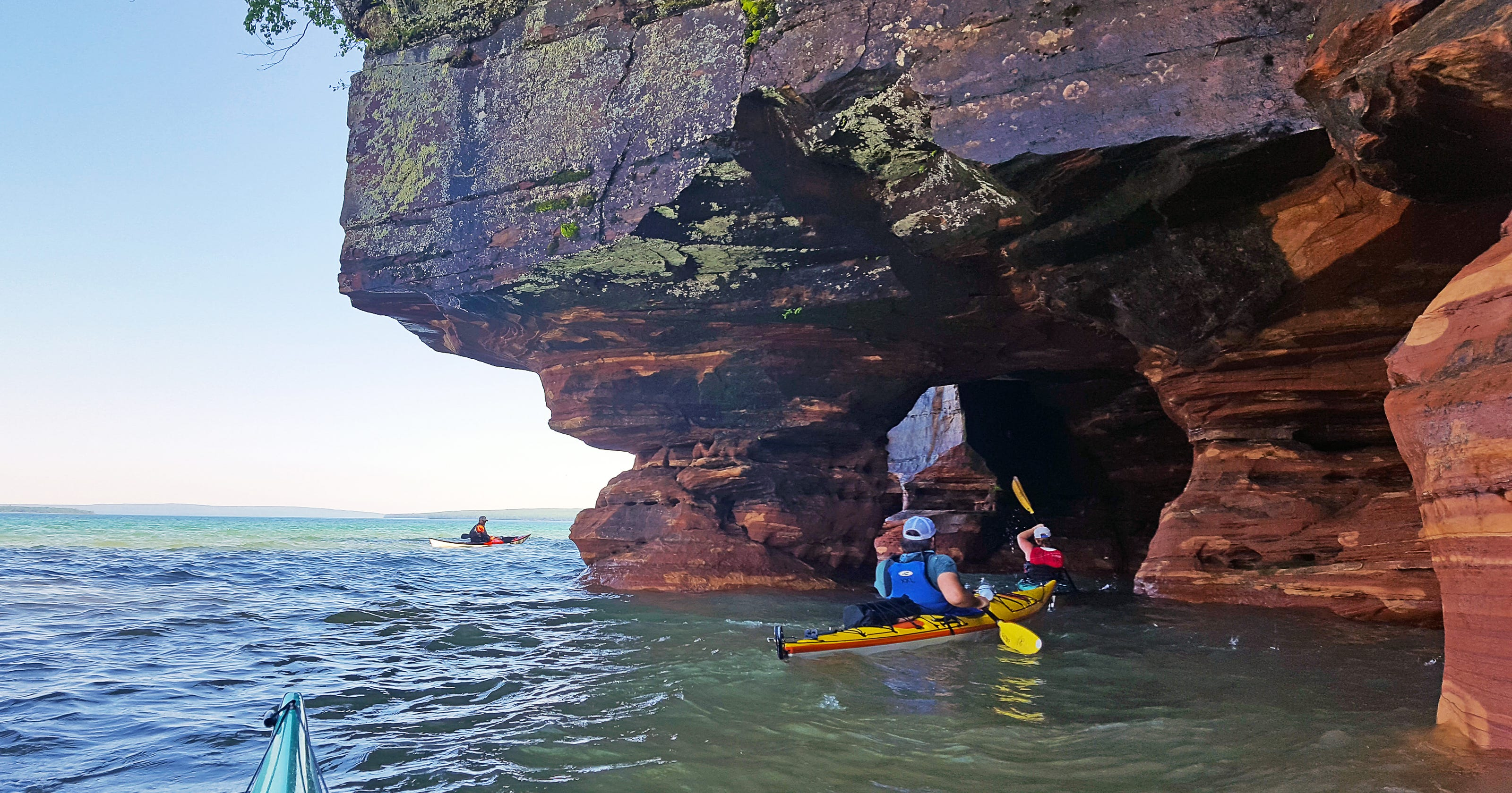 Kayaking The Apostle Islands And Their Famous Sea Caves
