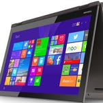 Toshiba aims for mainstream 4K with a 12.5-inch touchscreen.