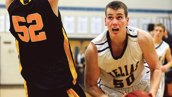 Alabama verbal football commit Hale  Hentges is a 1,000-point scorer at Class 4A Helias High in Jefferson, City, Mo.