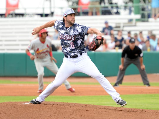 Chris Huffman is 4-3 with a 2.91 ERA in nine starts