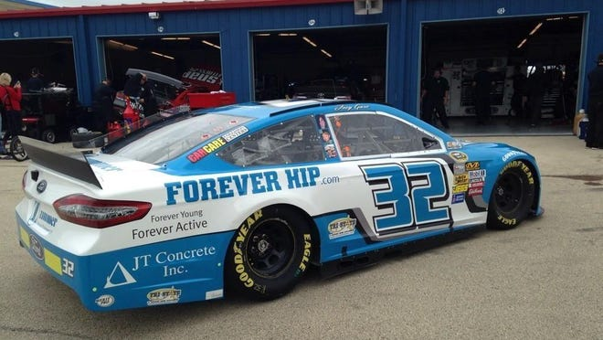 Cedar Rapids native Joey Gase will make his Sprint Cup series debut Sunday in the No. 32 Ford.