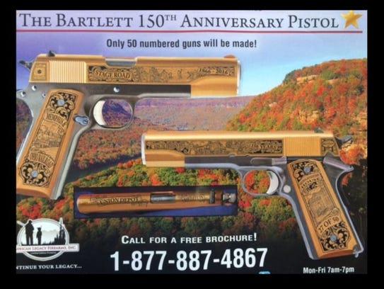 Bartlett Sesquicentennial Gun
