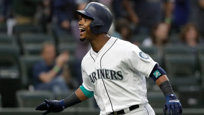 Jean Segura hit a solo home run in the first inning of a May 19 game against the Detroit Tigers. Segura seems to have picked up his play since close friend and second baseman Robinson Cano was suspended May 15 for a PED violation.