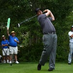 J.J. Henry, shown last year on his way to the trophy, is returning to defend his Barracuda Championship title.