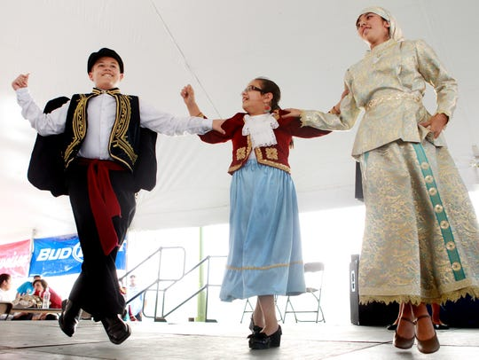 St. Nicholas' Hellenic dancers will perform at the
