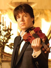 Violinist Joshua Bell joins the Academy of St. Martin-in-the-Fields of London at Community Church at 7:30 p.m. March 23.