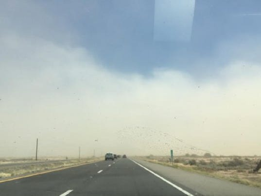 NWS dust