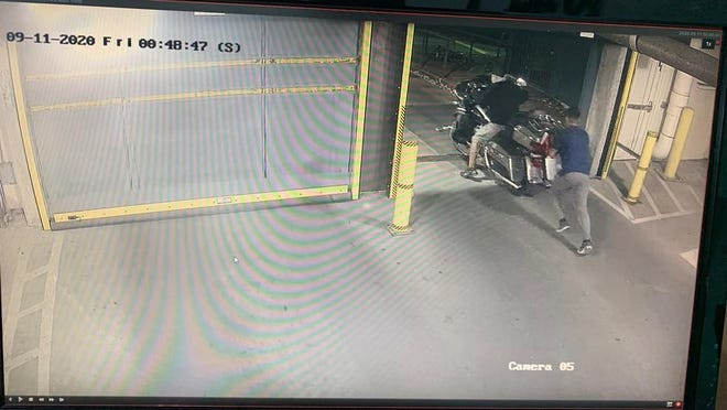 The Austin Fire Department said the chief's motorcycle was stolen Friday night.