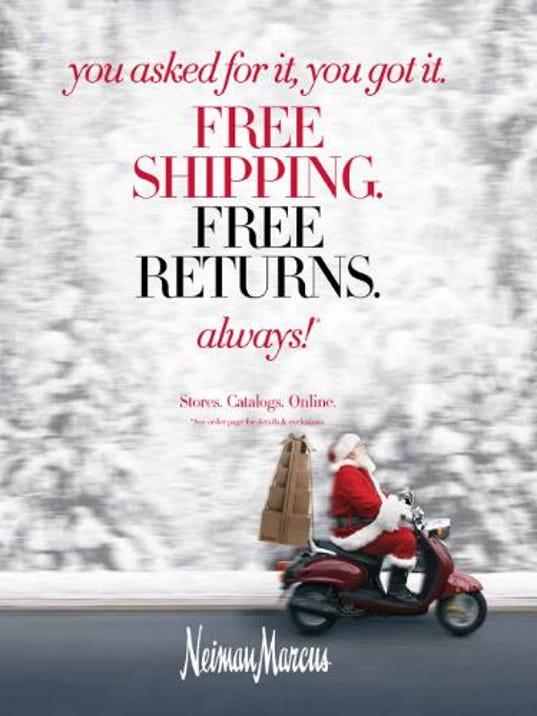 neiman marcus free shipping