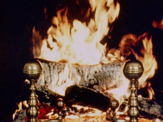 The original 1966 Yule Log was filmed at New York's Gracie Mansion