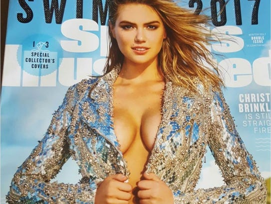 Justin Verlander's fiancee Kate Upton appears on the