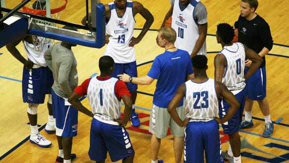 Louisiana Tech will be without forward Merrill Holden