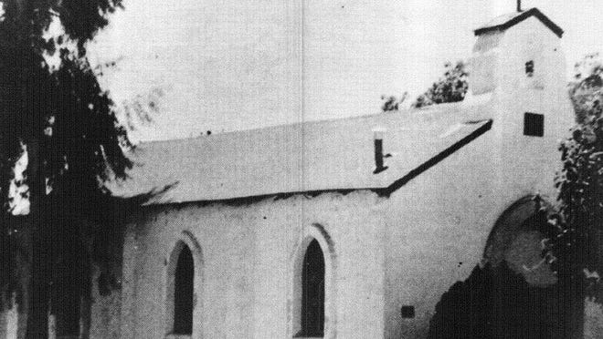The original building of St. Anne's Catholic Church in Gilbert. The building was built in 1936 at 20 W. Bruce St.