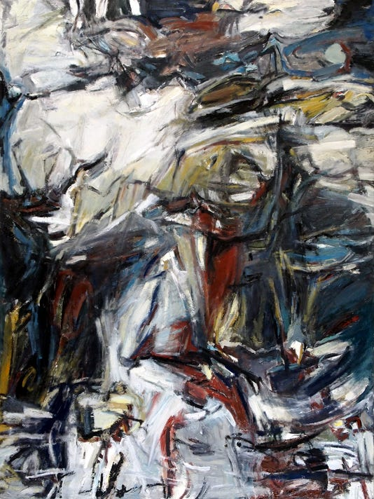 Enjoy-Jerry Michalak-THICKET AND THATCH oil on linen 48X36 2014 (1).jpg