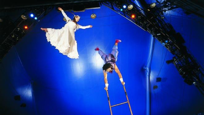 "Cirque du Soleil's ""Corteo"" soars into the BMO Harris Bradley Center through Sunday."