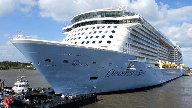 Royal Caribbean's 4,180-passenger Quantum of the Seas.