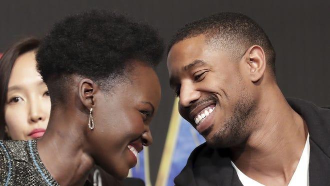 'Black Panther' stars Lupita Nyong'o and Michael B. Jordan are the couple that America needs.