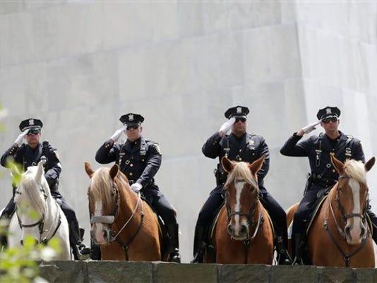 New York State Police Memorial