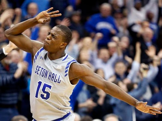 Seton Hall guard Isaiah Whitehead