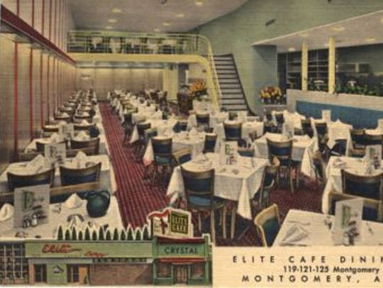 The Elite Cafe opened in 1911 and the site of the last
