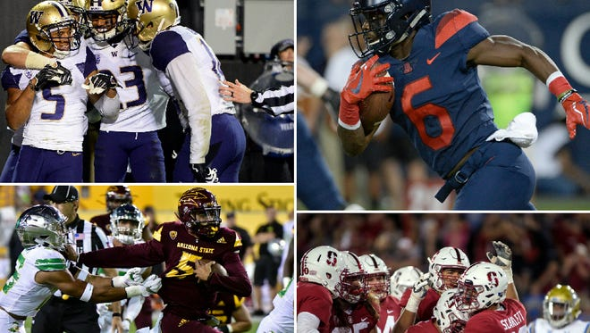 Washington tops Jeff Metcalfe's Pac-12 power rankings this week. Where's your favorite team?