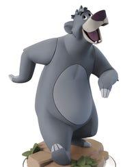"The Baloo figure for ""Disney Infinity"" is based on"