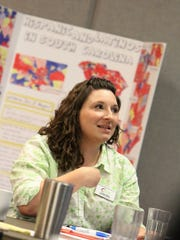 Lindsey Tabor, of Hispanic Alliance in Greenville,