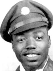 Voni B. Grimes during his time in the military.