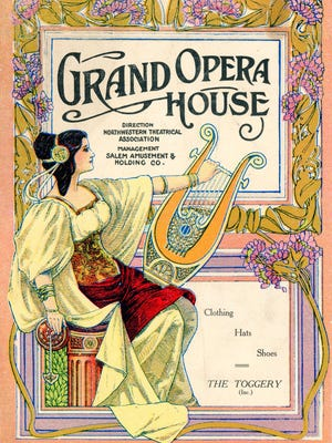 Yesterday's trash can sometimes provide insights into our community history. Such was the case of this program from the Grand Opera House (now Grand Theatre) from 1912.