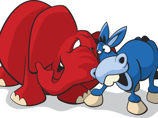 Political party mascots