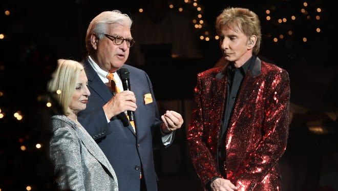 On the first day of Christmas ... Helene Galen & John Thorsen, Director Barbara Sinatra Children's Center Foundation