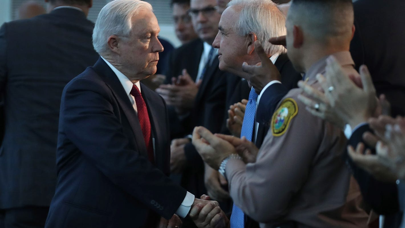 Attorney General Jeff Sessions finds ally in Miami in fight against sanctuary cities