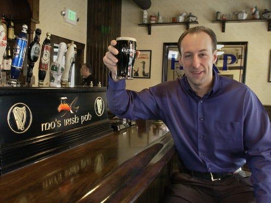 Johnny Vassallo - owner of Mo's Irish Pub