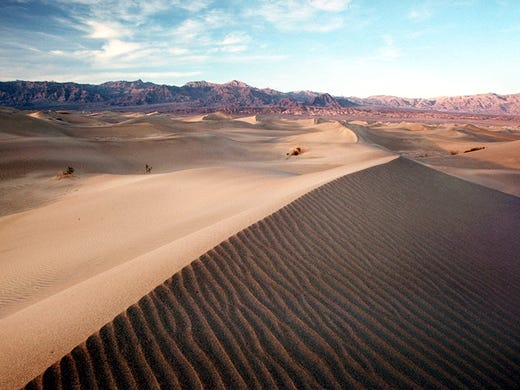 death valley national park a visitor s guide