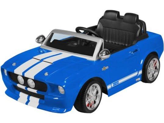 Power Wheels Mustang : Kiddie car stolen from lawn in hackettstown