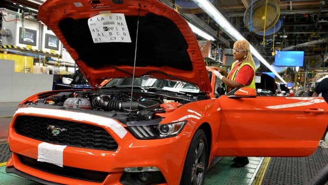 Year-to-date sales for the Mustang, which was redesigned for the 2015 model year, are down 9.3 percent to 87,258 through September.